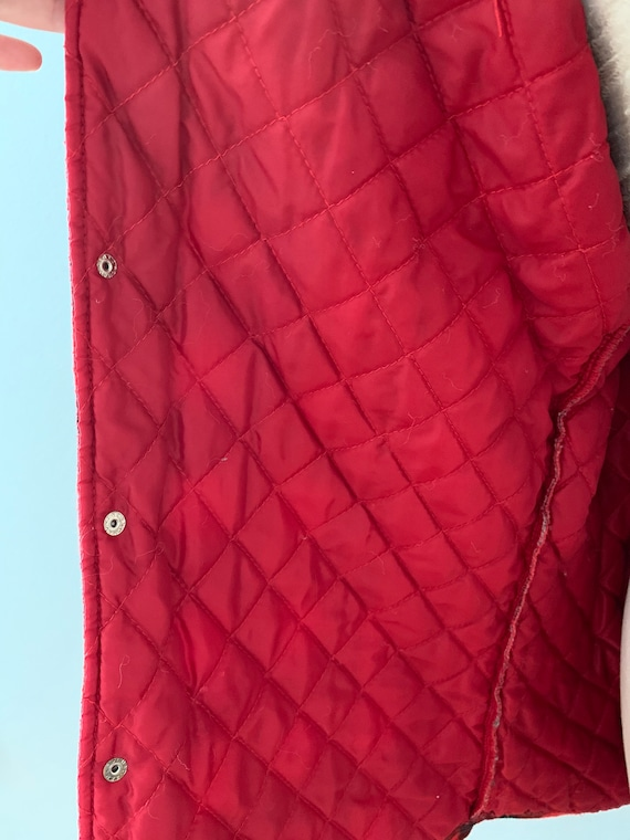 Vintage Champion red & black flannel shirt - image 7