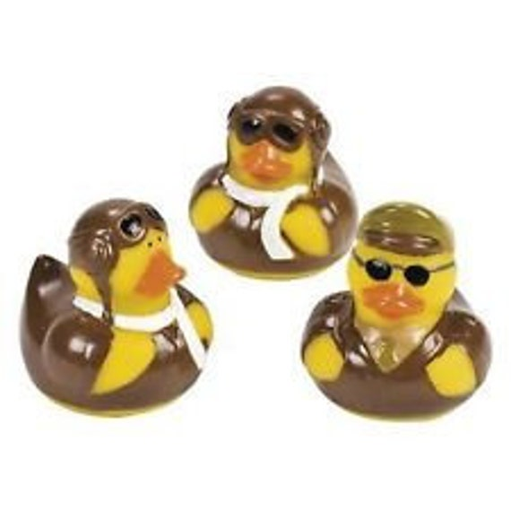 NEW Armed Forces Retirement Party Gifts Military Duckie 12 Army Rubber Ducks