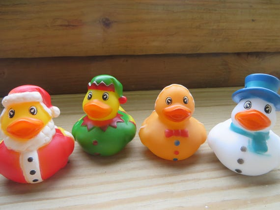 Christmas rubber ducks. Santa Claus Elf Gingerbread Man | Etsy