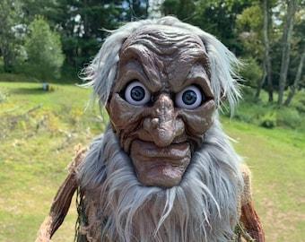 Hobgoblin - Giant Life-sized Fully Posable OOAK Goblin Creature Or Halloween Decoration