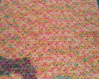 Prim Rose Baby Blanket