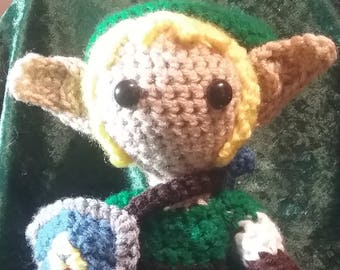 Link Doll Inspired by Legend of Zelda