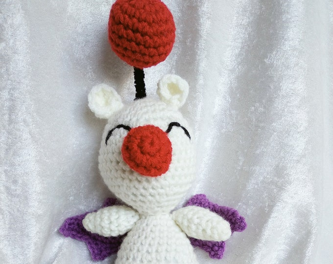 Moogle Crocheted Plushie