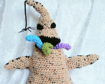 Oogie Boogie Crocheted Plush Doll