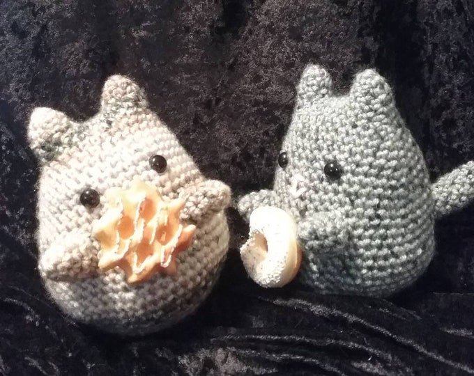 Plush Cat, Pusheen Inspired, Crochet