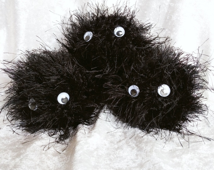 Soot Sprite Crocheted Plushie