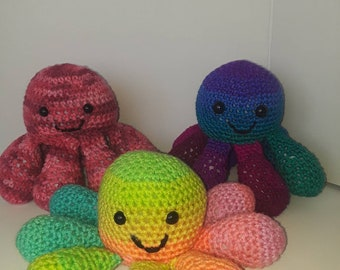 Octopus Crocheted Plush Doll