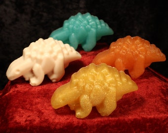 Dinosaur Shaped Handcrafted All-Natural Soap Available in 16 Fandom Inspired Scents