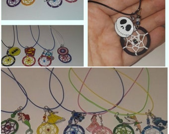 Dream Catcher Character Necklace