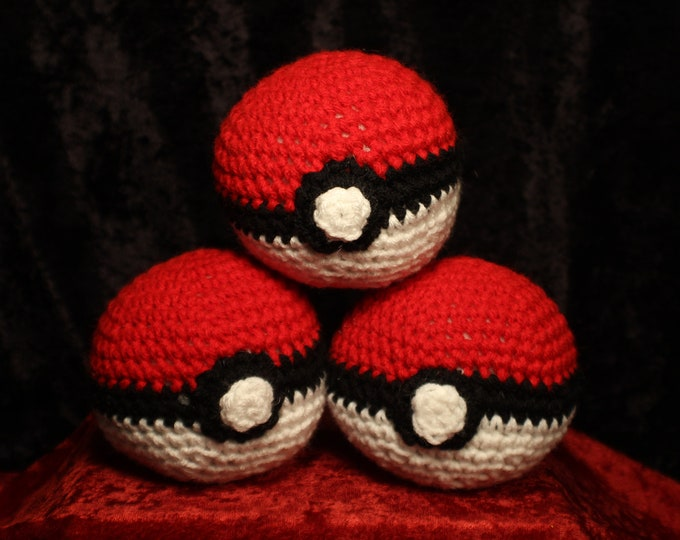 Pokemon Balls Crochet