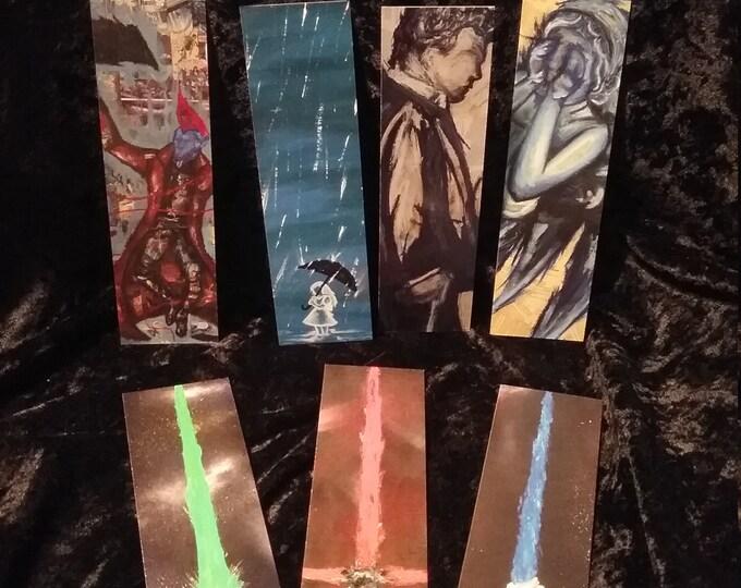 Bookmarks of Original Art Prints by Kelly Hawthorne II