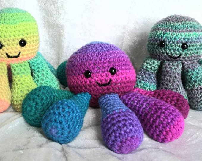 Octopus Crocheted Plush