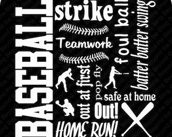 baseball vinyl subway art download DIY baseball vinyl template download vinyl baseball subway art download template baseball vinyl download