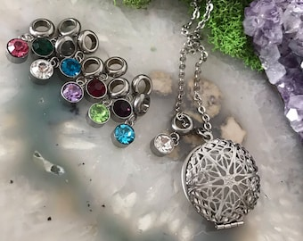 Essential Oils Lockets | Stainless Steel Locket | Diffuser Necklace | Aromatherapy Necklace | Smelly Necklace |  Diffuser Jewelry | Oils