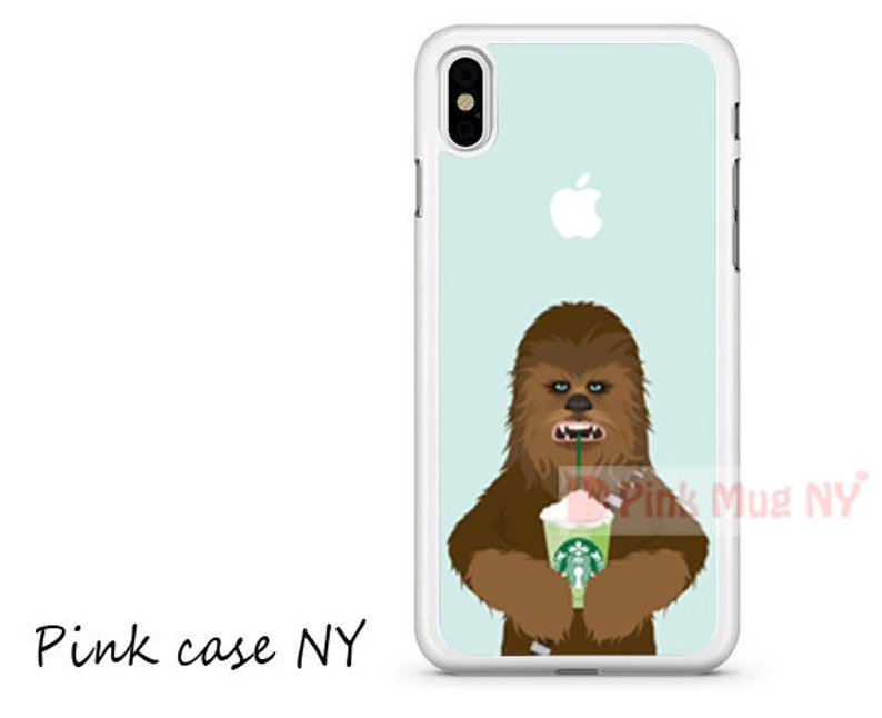 new product 46ead 6d589 IPHONE CASE - I love Starbucks - Chewbacca - Star Wars