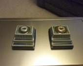 Pair of Vintage Wade Pottery Inkwell and pen holder. Desk Decor, Desk Accessories,. C