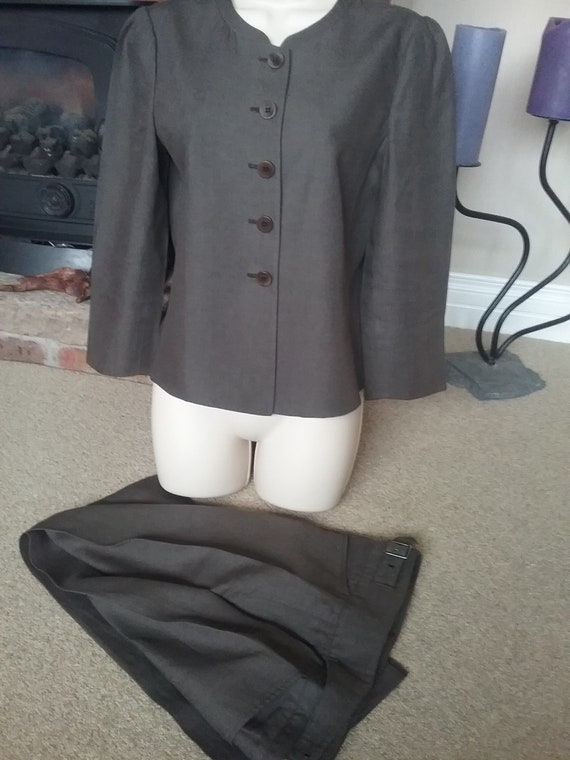 Vintage Armani Collezioi. Brown Woman's Trouser Su