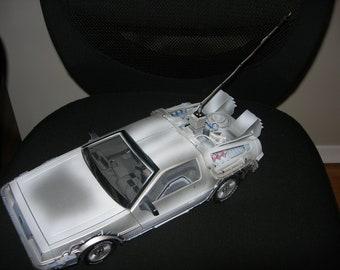 1//15 Custom License Plate Decals for Diamond Select Back to the Future Delorean
