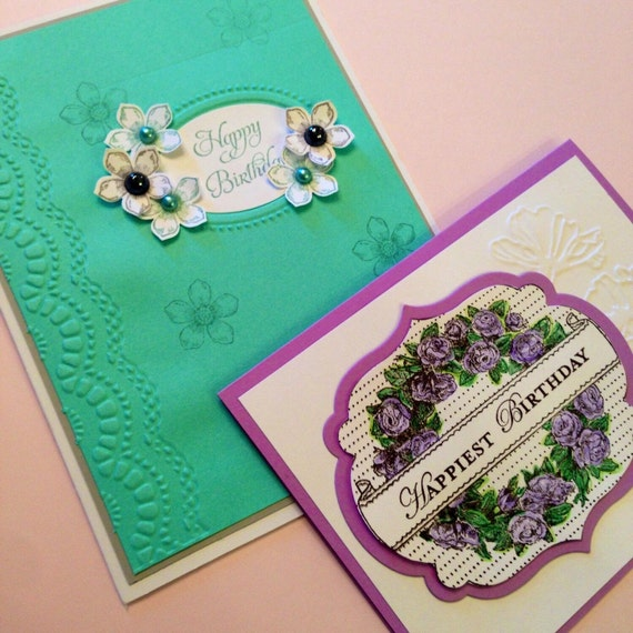 Set Of 8 Custom Birthday Cards Free Shipping
