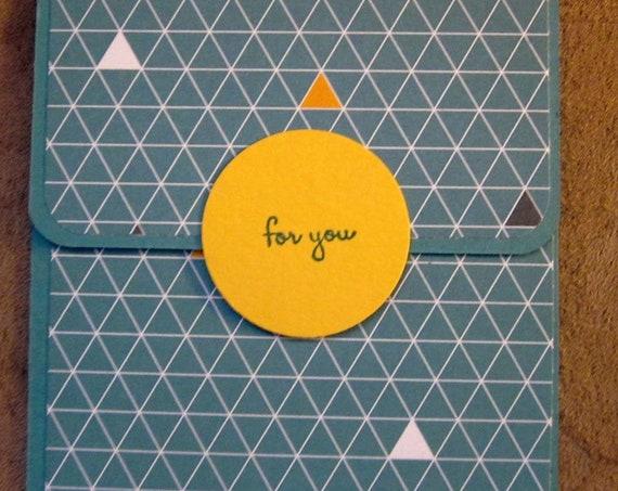 Handmade Gift Card Holder; Any Occasion Gift Card Holder; Birthday Gift Card Holder; Stampin Up Gift Card Holder