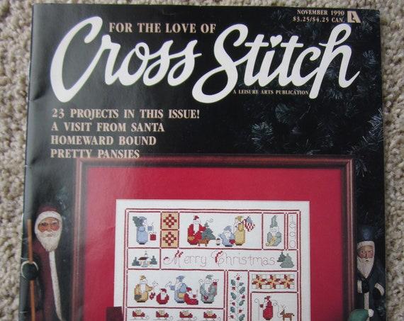 Cross Stitch Pattern Book / 23 cross stitch patterns