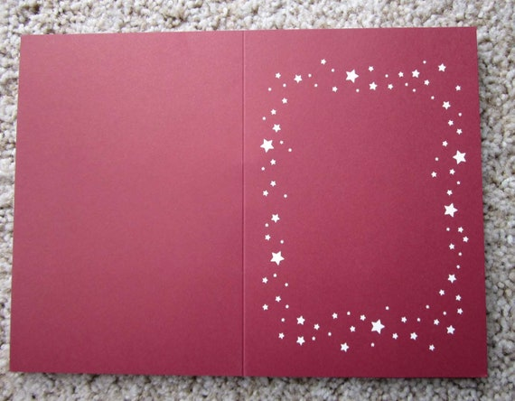 Blank cards and envelopes for Christmas cards / Twenty blank cards / Create your own Christmas cards / Blank cards to decorate