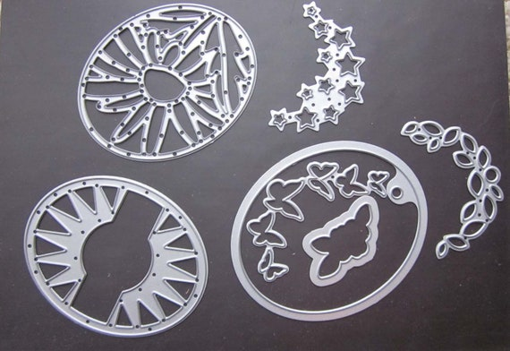 Stampin' Up! Timeless Tags Sizzix Thinlit Dies / Dies to cut oval paper tags