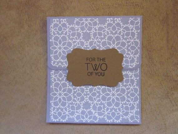 Wedding Gift Card Holder; Gift Card Holder for Wedding Present; Stampin' Up! gift card holder; bridal shower gift card holder
