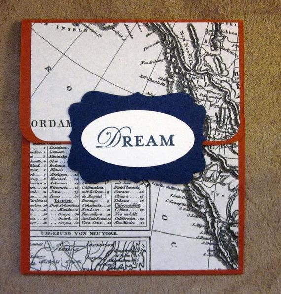 Handmade Gift Card Holder; Any Occasion Gift Card Holder; Masculine Gift Card Holder; Graduation Gift Card Holder; Dream