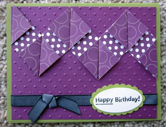 Handmade Birthday card / Stampin' Up! birthday card / blank birthday card