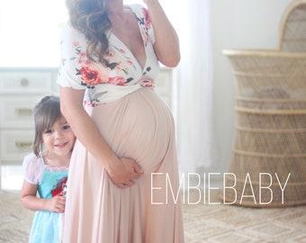 Maternity dress for baby showerbodycon Maternity DressMaternity dress for photo shootBaby shower dressmagenta dressfitted dress