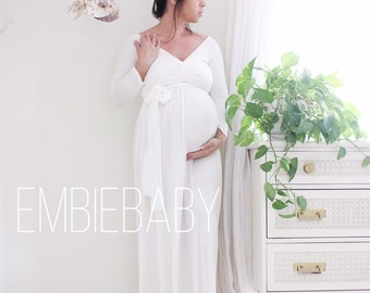 56df67841a064 Maternity dress / maternity gown / baby shower dress - babydoll * Ready to  ship
