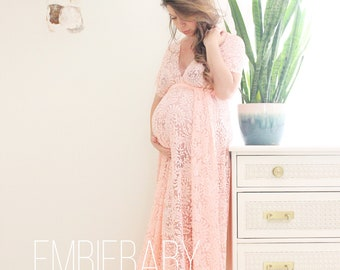 021db0cd2d7 Maternity dress   photo shoot dress  baby shower dress   maternity gown-  the full wrap dress