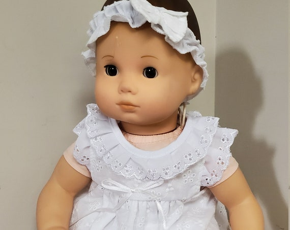 Bitty Baby Christening Gown 4 pieces