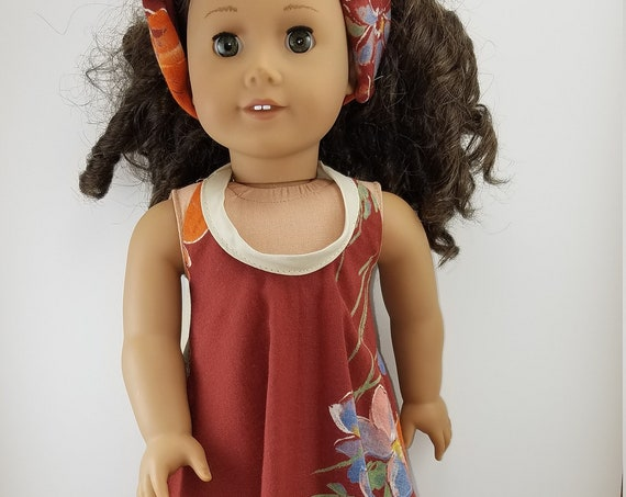 Jamaican Dress for the American Girl or any 18 inch doll