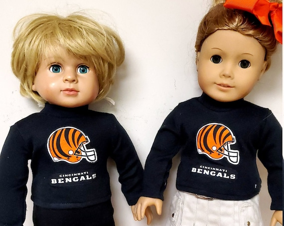 American Girl & Boy Sports outfits. Cincinnati or Brown Matching Outfit.