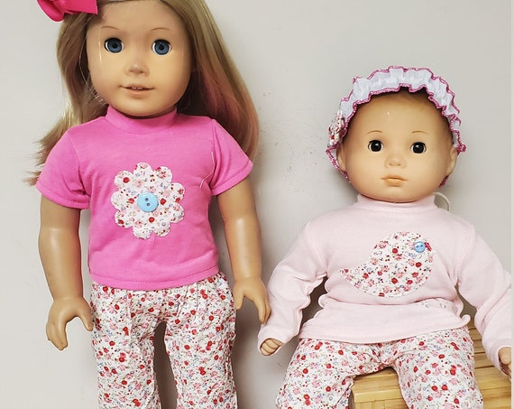 Matching American Girl and Bitty Baby Outfits