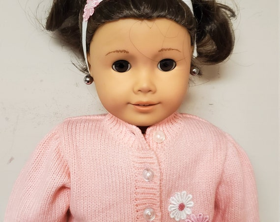 Sweater and Jean skirt for the American Girl Doll