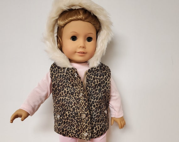 4 piece Winter Outfit  for any 18 Inch doll like the American Girl doll