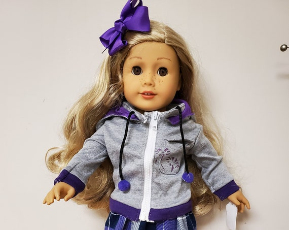4 piece outfit for 18 Inch dolls such as American Girl® Comes with Tennis Shoe or boots