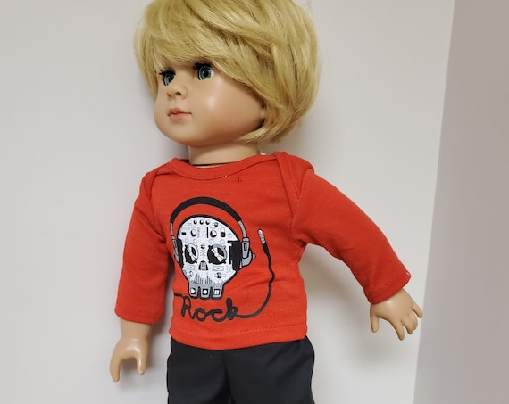 Boy Doll Clothes for the American Boy Doll  18 inch 3 piece Outfit