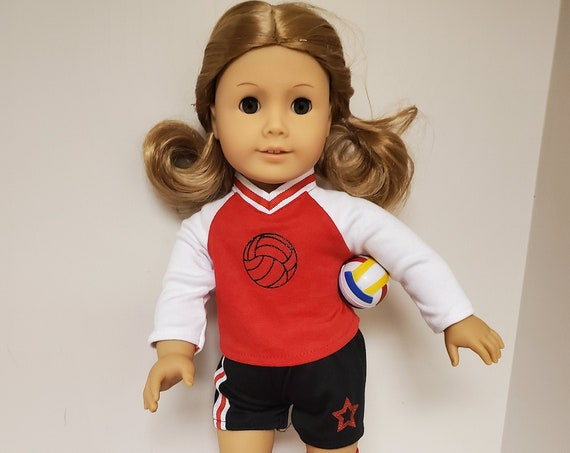 Volley Ball Outfit for The American Girl