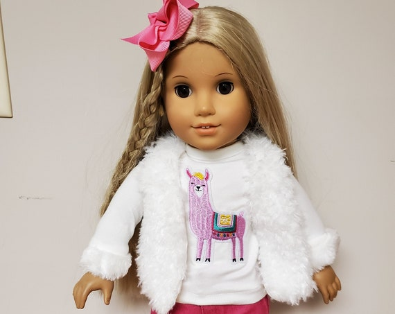 Lama Outfit for the American Girl doll