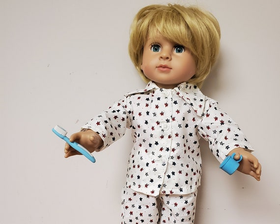 5 Piece PJ's Set Doll Clothes For 18 Inch American Girl Boy Dolls   18 Inch Boy Doll Clothes