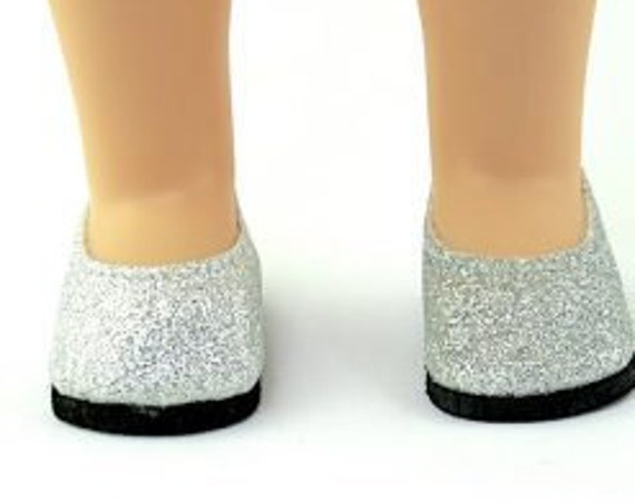 Wellie Wisher 14.5 inch doll  Red or Silver Sequin shoes for the Willie Wisher Doll
