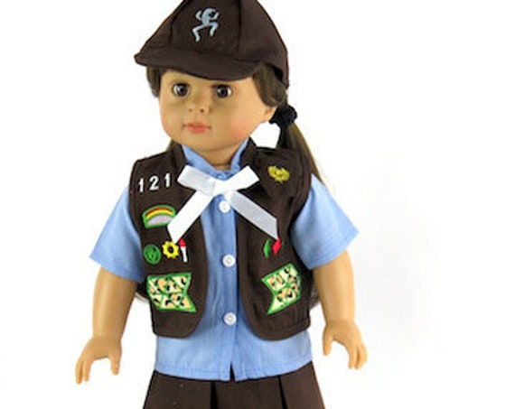 Brownie Outfit for the American Girl Doll.