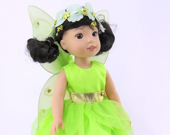 Tinker Bell Outfit for the Wellie Wishers Doll