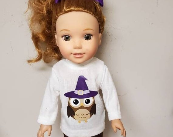 Wellie Wisher Halloween  Fall Outfit 5 pieces