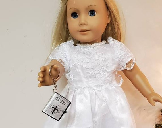 American Girl Christening or Wedding Gown