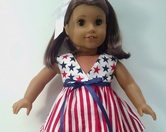 4th of July Dress that will fit the American Girl doll